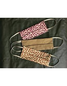 Fabric Masks - set 3 pieces