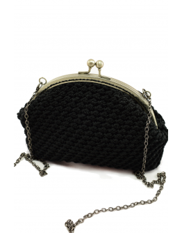 Small knitted bag
