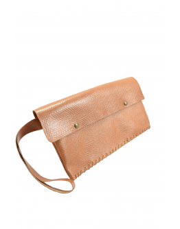 Leather envelope bag