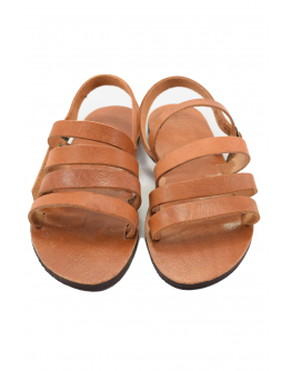 Handmade leather sandals for women - classic style